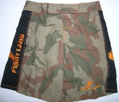 BOARD SHORTS CAMO Orange Logo
