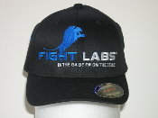 FightLabs Walkout Hat Blue Logo